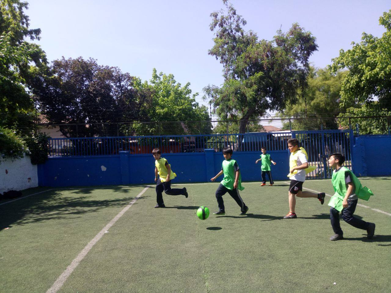 Campeonato Fútbol – 24 Noviembre – 4tos