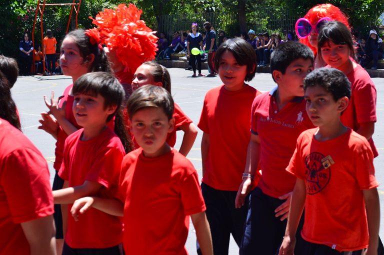 Aniversario Colegio desfile inaugural